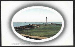 Girdleness Lighthouse Aberdeen Scotland Unused c1910s