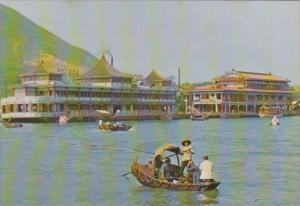 Hong Kong Aberdeen Floating Restaurants