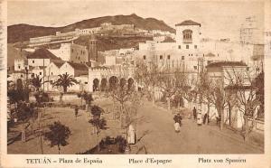Morocco Tetuan Tetouan Plaza de Espana, Place d'Espagne, Platz von Spanien 1932