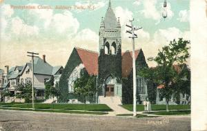 Asbury Park New Jersey~Presbyterian Church~Neighborhood Homes~1906
