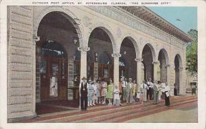 Outdoor Post Office, St. Petersburg, Florida, PU_1931