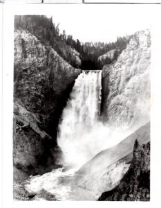Haynes 16256, Lower Fall from Red Rock,  Yellowstone National Park