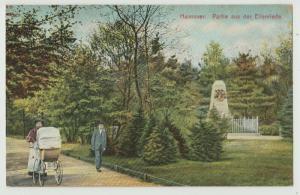 HANNOVER GERMANY PARTIE AUS DER EILENRIEDE ansichtskarte Postcard