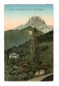 Schloss Grafenegg bei Liezen mit Tausing, Austria , PU-1909