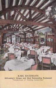 Wisconsin Milwaukee Karl Ratzsch's Restaurant