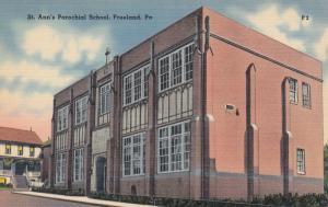 FREELAND, Pennsylvania , 1930s-40s ; St. Ann's Parochial School