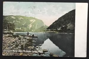 Delaware Water Gap PA Indian Ladder Bluff 1909 The Hugh C Leighton Co 1136