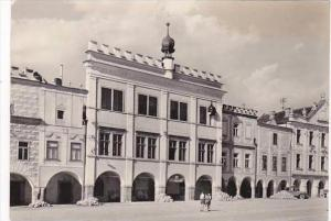 Czech Republic Telc namesti Trest 1959 Real Photo