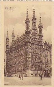 Hotel De Ville, Louvain (Flemish Brabant), Belgium, 1900-1910s
