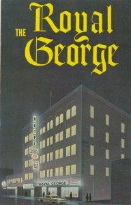 EDMONTON , Alberta , Canada , 1950-60s ; The Royal George Hotel