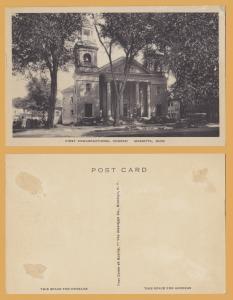 Marietta, Ohio, First Congregational Church -