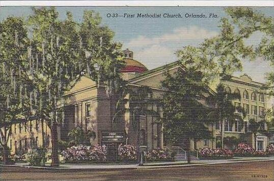 Florida Orlando First Methodist Church