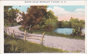 New York Country Scene Near Mongaup Valley