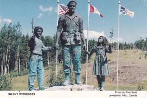 Silent Witnesses Monument , LEWISPORTE , Newfoundland , Canada , 50-70s