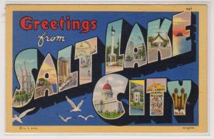 Large Letter, Salt Lake City UT