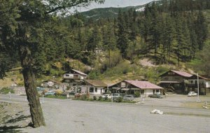 BRITISH COLUMBIA, Canada, 1950-1960's; Kanaka Bar, Fraser Canyon, Trans-Canad...