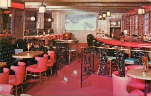 Continental Inn Lexington Kentucky KY Revere Tavern New Circle Rd. Postcard