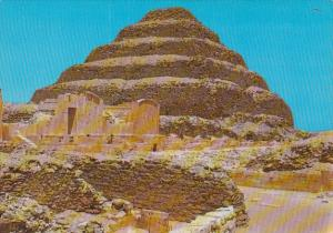 Egypt Sakkara King Zoser's Step Pyramid