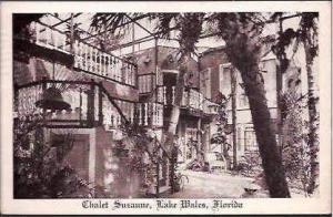 FL Lake Wales Chalet Suzanne Patio 1941