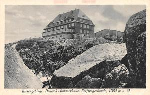 France Riesengebirge Deutsch Bohmerhaus  Riesengebirge Deutsch Bohmerhaus