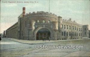Fourth Regiment Armory Jersey City NJ Unused
