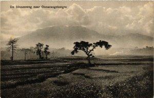 CPA INDONESIA De binnenweg naar Oenarangebergte (341621)