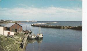 LaGaspesie, Fishermans Harbour, Grande Riviere, Quebec,  Canada, PU-40-60s