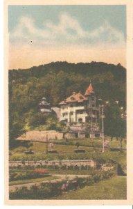 CI00975 romania bacau slanic moldova spa rica villa 1938 bacau censorship WW2