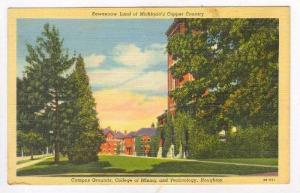 College of Mining, Houghton, Michigan, 30-40s