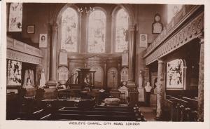 RP: Wesley's Chapel, City Road, LONDON, England, United Kingdom, 1920-30s
