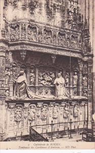 France Rouen Cathedral Tombeaux des Cardinaux d'Amboise