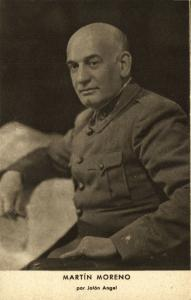Spanish Civil War, Spanish Nationalist General Francisco Martín Moreno (1939)