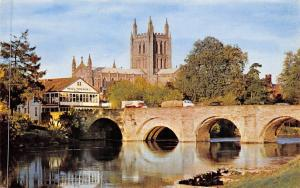 The Cathedral and Bridge Brucke Dom Hereford