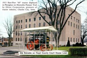Iowa Charles City Floyd County Court House and 1913 Hart-Pfarr 60...