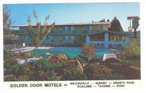Exterior, Golden Door Motels,40-60s