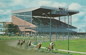 WINNIPEG, Manitoba, Canada, 50-60s; Assiniboia Downs Horse Racetrack