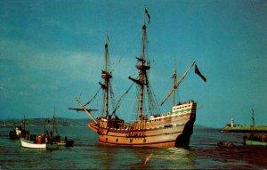 Massachusetts Plymouth Mayflower II At Plimoth Plantation Eel River Site