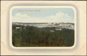 bermuda, HAMILTON, View from Paget (1910s)
