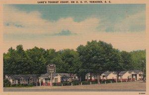 YEMASSEE , South Carolina, 30-40s ; Lane's Tourist Court