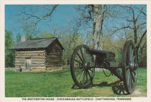 Tennessee Chattanooga The Brotherton House Chickamauga Battlefield