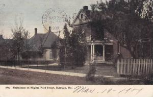 Exterior, Street View, Residences on Hughes-Ford Street, Sullivan, Missouri, ...