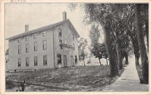 Milton Vermont Ioof Lodge No.67 Antique Postcard J70760