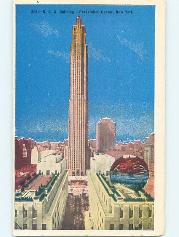 1936 the RCA BUILDING New York City NY ho1258