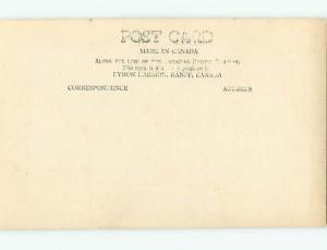 Circa 1910 rppc SULPHUR MOUNTAIN & CPR HOTEL IN BANFF Alberta AB CANADA t3133