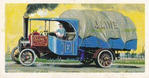 Trade Cards Brooke Bond Tea Transport Through The Ages No 17 Steam Wagon
