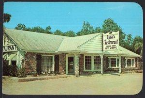 Florida ~ Rymal's Restaurant DE LAND on Highway U.S. 17 - Chrome 1950s-1970s