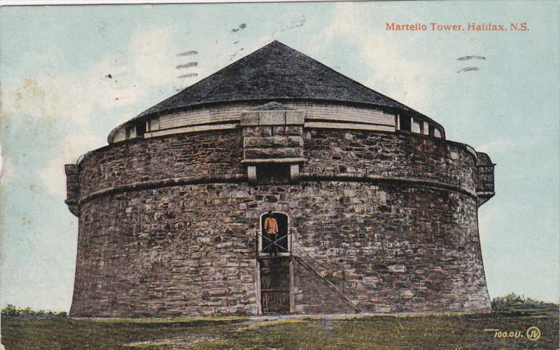 HALIFAX, Nova Scotia, Canada, PU-1918; Martelio Tower