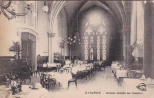 France Avignon Ancienne Chapelle des Templiers Dining Room
