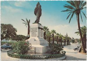 MALTA, Floriana, Monument of Christ the King, 1960s unused Postcard