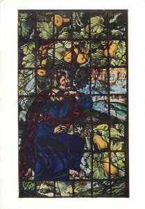 Postcard Religion  Oxford Christ Church Cathedral North Nave Aisle West Window